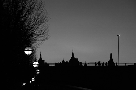 Waterloo Bridge dusk