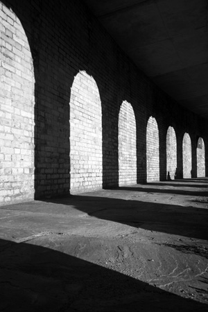 Brompton Cemetery colonnade