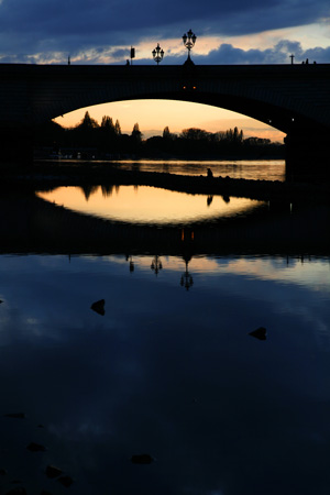 Putney Bridge sunset